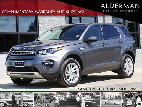 2016 Land Rover Discovery Sport for sale in Fishers, IN