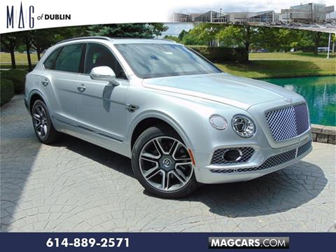 2018 Bentley Bentayga for sale in Dublin, OH