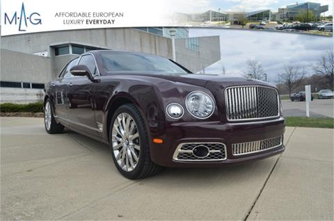 2018 Bentley Mulsanne for sale in Dublin, OH