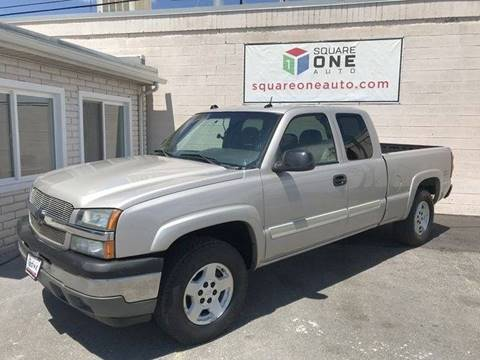 2005 Chevrolet Silverado 1500 for sale at SQUARE ONE AUTO LLC in Murray UT