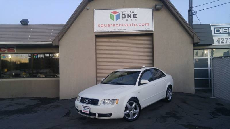 2004 Audi A4 for sale at SQUARE ONE AUTO LLC in Murray UT