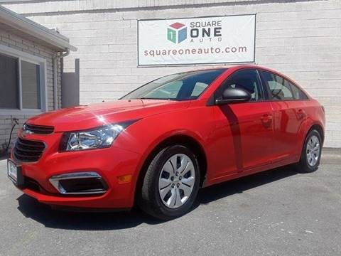 2016 Chevrolet Cruze Limited for sale at SQUARE ONE AUTO LLC in Murray UT