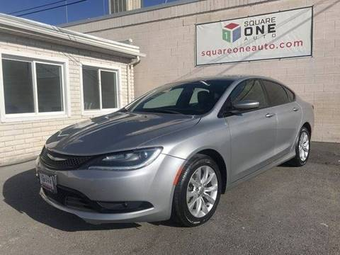 2016 Chrysler 200 for sale at SQUARE ONE AUTO LLC in Murray UT