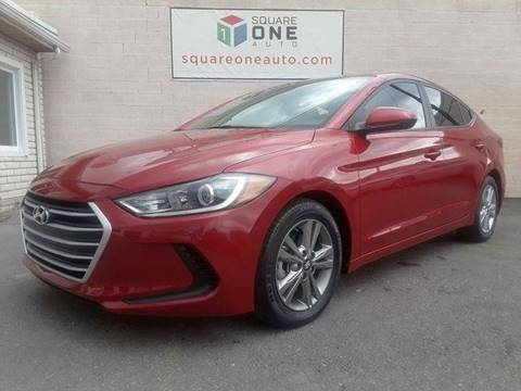2017 Hyundai Elantra for sale at SQUARE ONE AUTO LLC in Murray UT