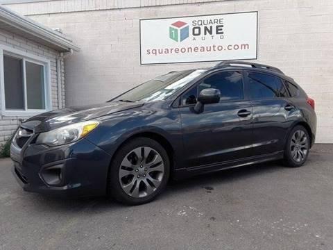 2014 Subaru Impreza for sale at SQUARE ONE AUTO LLC in Murray UT