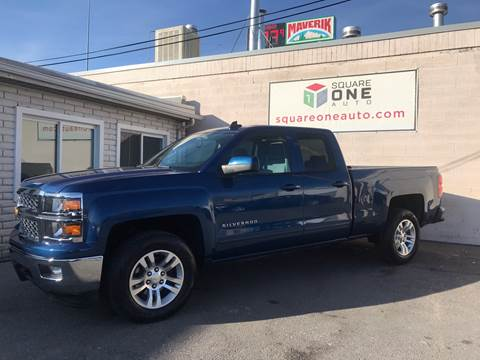 2015 Chevrolet Silverado 1500 for sale at SQUARE ONE AUTO LLC in Murray UT