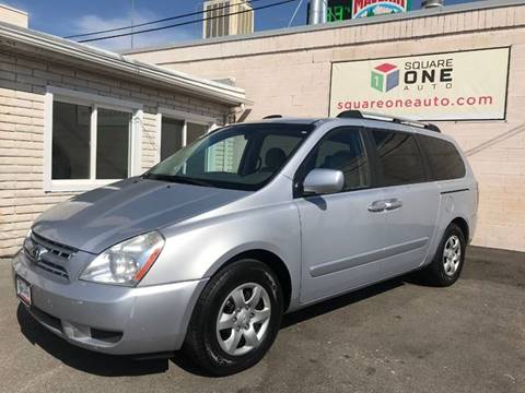 2008 Kia Sedona for sale at SQUARE ONE AUTO LLC in Murray UT