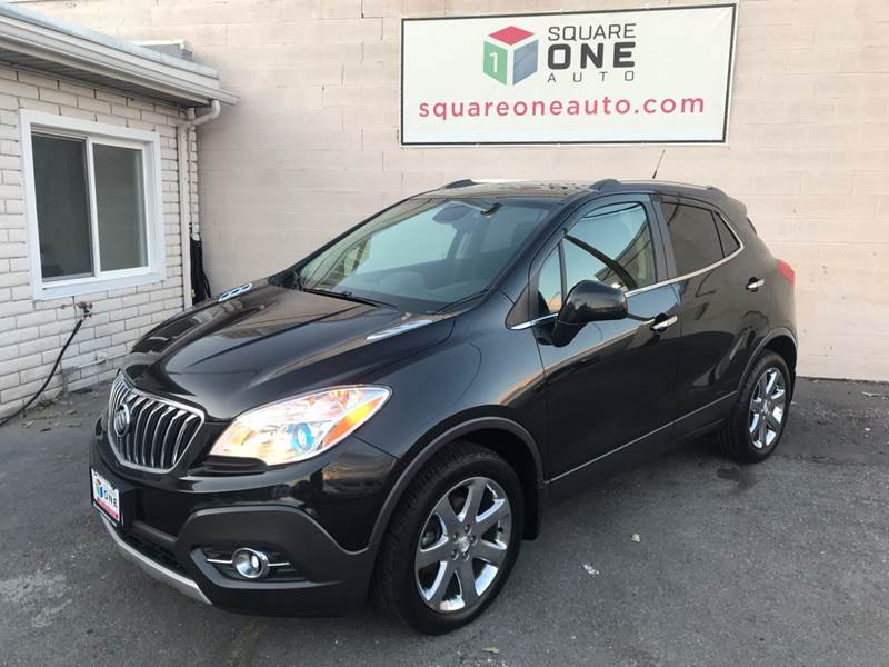 2013 Buick Encore for sale at SQUARE ONE AUTO LLC in Murray UT