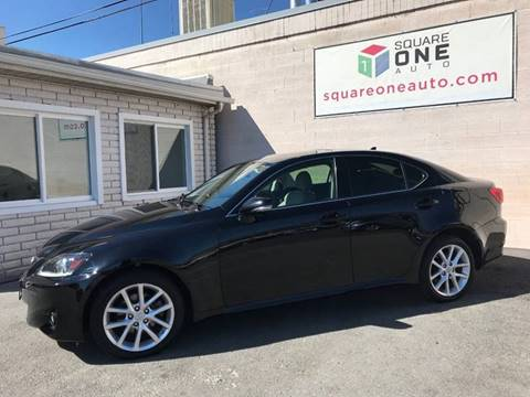 2012 Lexus IS 250 for sale at SQUARE ONE AUTO LLC in Murray UT