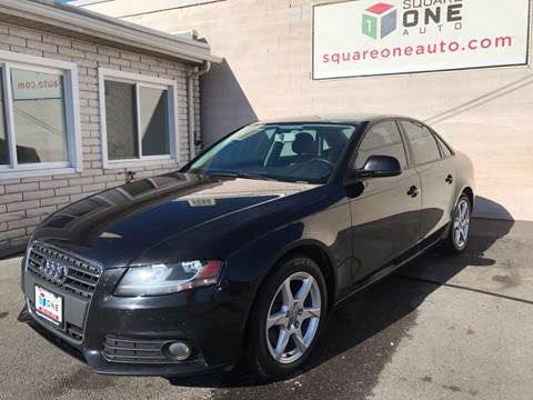 2009 Audi A4 for sale at SQUARE ONE AUTO LLC in Murray UT
