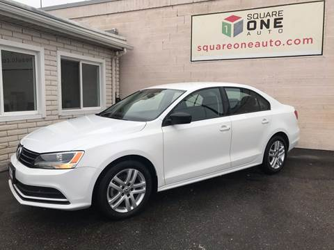 2015 Volkswagen Jetta for sale at SQUARE ONE AUTO LLC in Murray UT