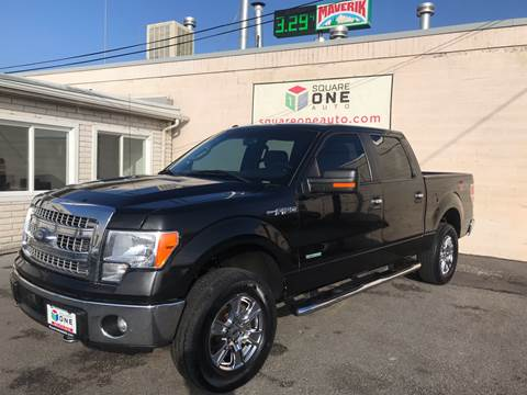 2014 Ford F-150 for sale at SQUARE ONE AUTO LLC in Murray UT