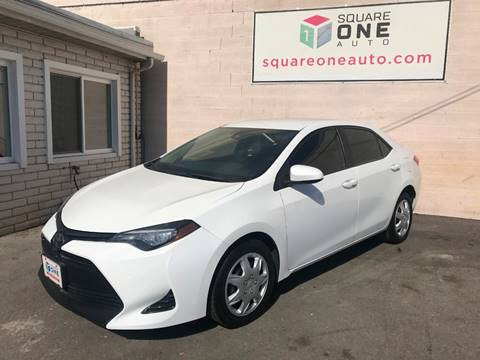 2017 Toyota Corolla for sale at SQUARE ONE AUTO LLC in Murray UT