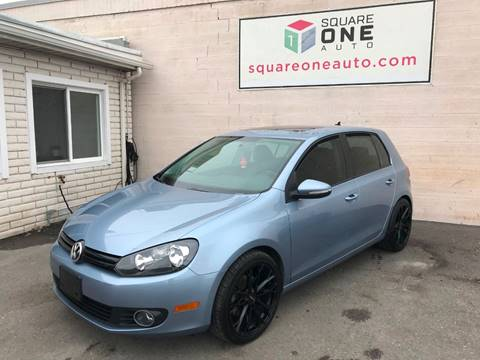 2011 Volkswagen Golf for sale at SQUARE ONE AUTO LLC in Murray UT
