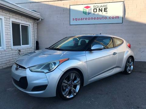 2013 Hyundai Veloster for sale at SQUARE ONE AUTO LLC in Murray UT