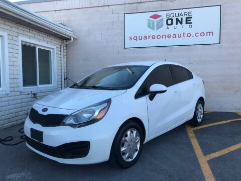2013 Kia Rio for sale at SQUARE ONE AUTO LLC in Murray UT