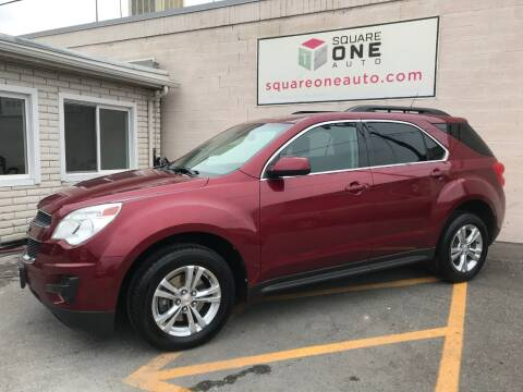 2011 Chevrolet Equinox for sale at SQUARE ONE AUTO LLC in Murray UT