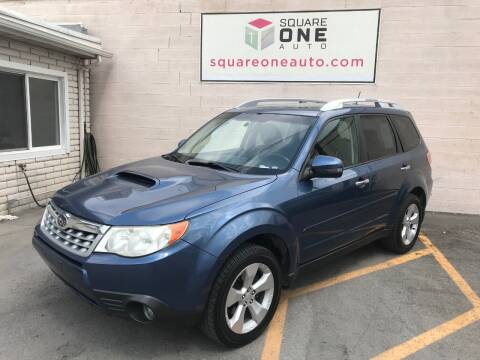 2011 Subaru Forester for sale at SQUARE ONE AUTO LLC in Murray UT
