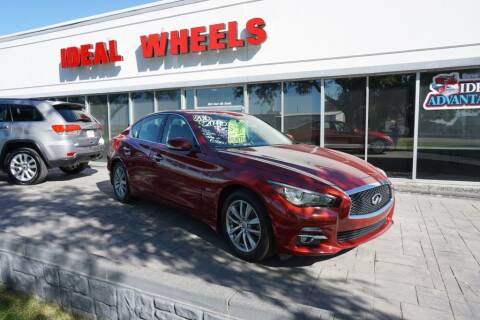 2016 Infiniti Q50 for sale at Ideal Wheels in Sioux City IA
