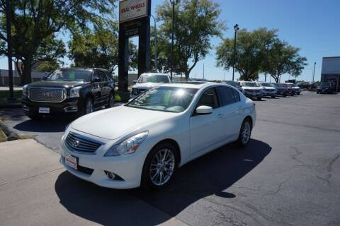 2013 Infiniti G37 Sedan for sale at Ideal Wheels in Sioux City IA