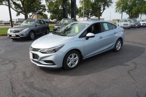 2017 Chevrolet Cruze for sale at Ideal Wheels in Sioux City IA