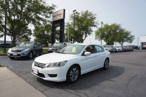 2015 Honda Accord for sale at Ideal Wheels in Sioux City IA