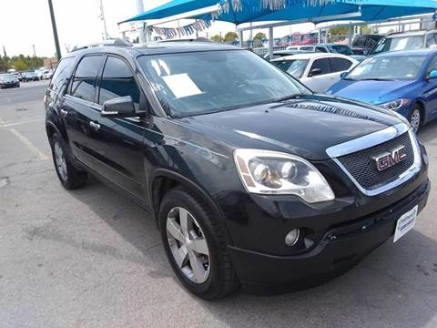 2011 GMC Acadia for sale at Monaco Auto Center LLC in El Paso TX