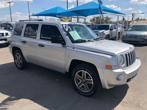 2009 Jeep Patriot for sale at Monaco Auto Center LLC in El Paso TX