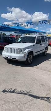 2008 Jeep Liberty for sale at Monaco Auto Center LLC in El Paso TX