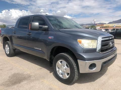 2010 Toyota Tundra for sale at Monaco Auto Center LLC in El Paso TX