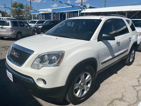2010 GMC Acadia for sale at Monaco Auto Center LLC in El Paso TX