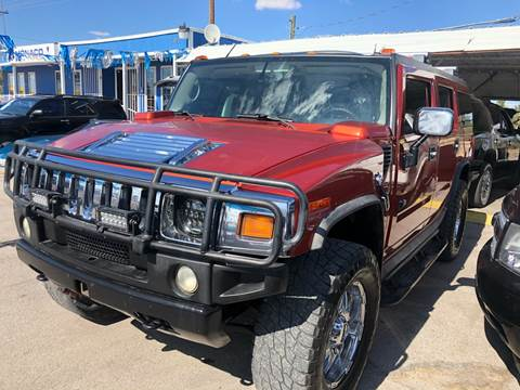 2003 HUMMER H2 for sale at Monaco Auto Center LLC in El Paso TX