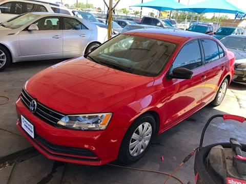 2015 Volkswagen Jetta for sale at Monaco Auto Center LLC in El Paso TX