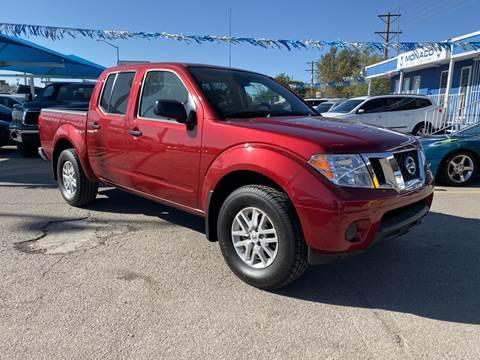 2019 Nissan Frontier for sale at Monaco Auto Center LLC in El Paso TX