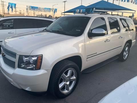 2012 Chevrolet Suburban for sale at Monaco Auto Center LLC in El Paso TX