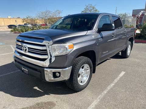 2016 Toyota Tundra for sale at Monaco Auto Center LLC in El Paso TX