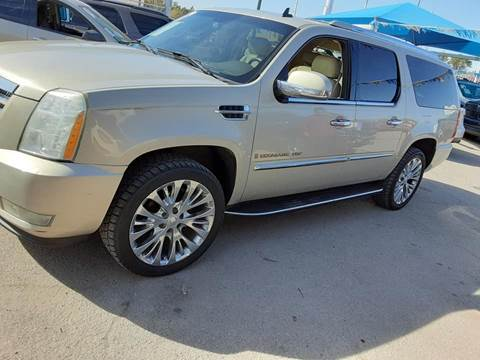 2007 Cadillac Escalade EXT for sale at Monaco Auto Center LLC in El Paso TX