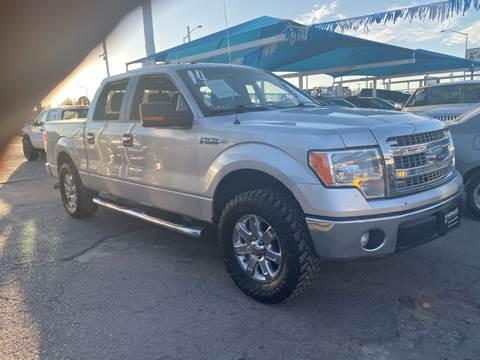 2014 Ford F-150 for sale at Monaco Auto Center LLC in El Paso TX