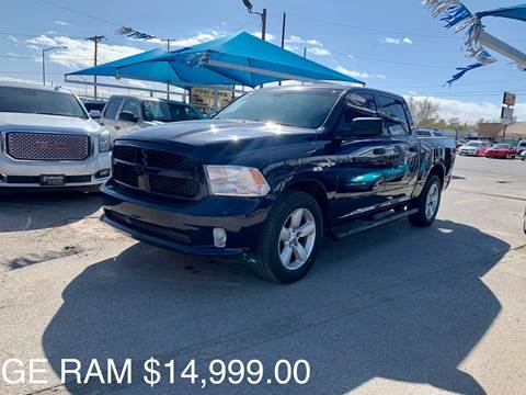 2013 RAM Ram Pickup 1500 for sale at Monaco Auto Center LLC in El Paso TX
