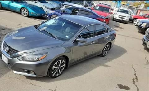 2017 Nissan Altima for sale at Monaco Auto Center LLC in El Paso TX