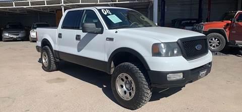 2004 Ford F-150 for sale at Monaco Auto Center LLC in El Paso TX