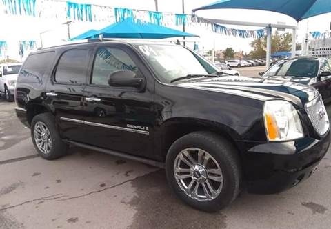 2009 GMC Yukon for sale at Monaco Auto Center LLC in El Paso TX