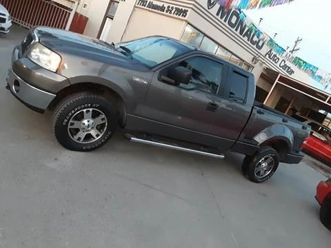 2005 Ford F-150 for sale at Monaco Auto Center LLC in El Paso TX