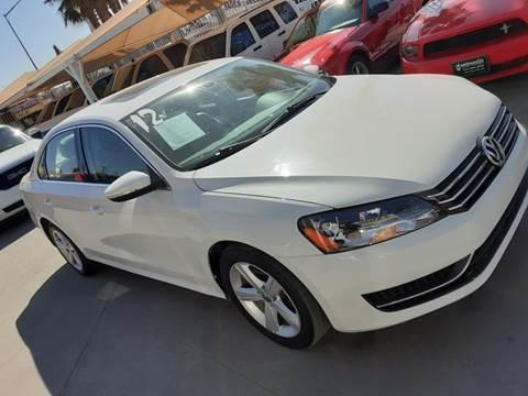 2012 Volkswagen Passat for sale at Monaco Auto Center LLC in El Paso TX