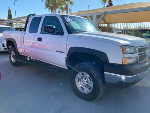 2006 Chevrolet Silverado 2500HD for sale at Monaco Auto Center LLC in El Paso TX