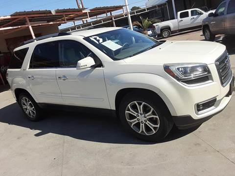 2013 GMC Acadia for sale at Monaco Auto Center LLC in El Paso TX
