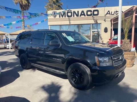 2011 Chevrolet Suburban for sale at Monaco Auto Center LLC in El Paso TX