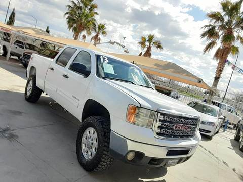2013 GMC Sierra 2500HD for sale at Monaco Auto Center LLC in El Paso TX