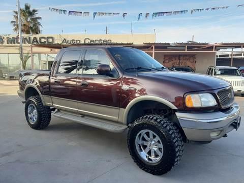 2001 Ford F-150 for sale at Monaco Auto Center LLC in El Paso TX