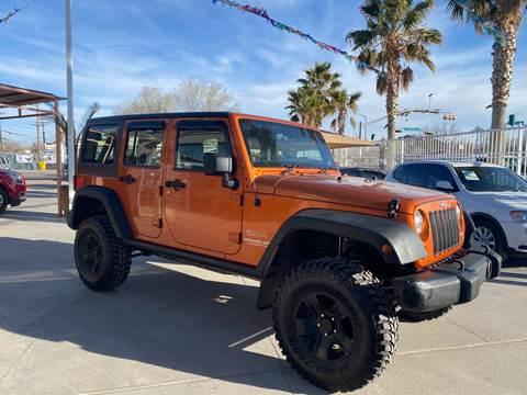 2011 Jeep Wrangler Unlimited for sale at Monaco Auto Center LLC in El Paso TX